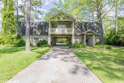 Fairhope Single Family Home For Sale: 515 Evergreen Street