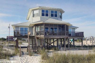 Gulf Shores Single Family Home For Sale: 5724 Beach Blvd