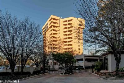 Daphne Condo/Townhouse For Sale: 100 Tower Drive #704
