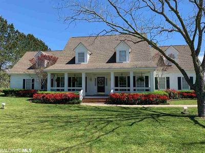 Fairhope Single Family Home For Sale: 16346 County Road 13
