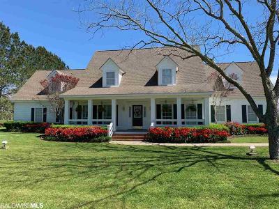 Fairhope AL Single Family Home For Sale: $980,000