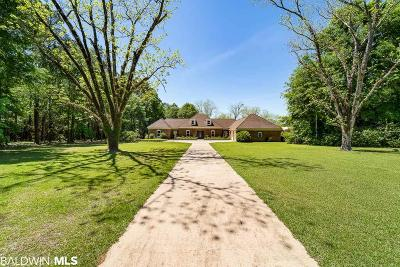 Silverhill Single Family Home For Sale: 19353 County Road 9