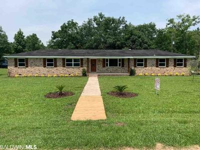 Silverhill Single Family Home For Sale: 22209 6th Street