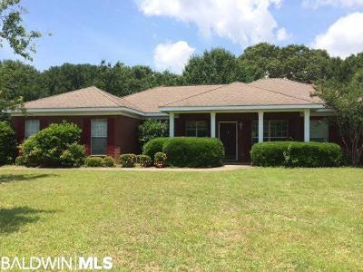 Fairhope Single Family Home For Sale: 9603 Callaway Drive