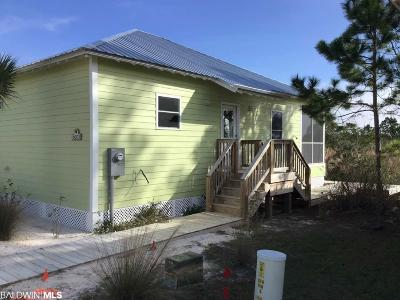Gulf Shores AL Single Family Home For Sale: $269,900