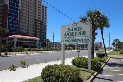 Baldwin County Condo/Townhouse For Sale: 372 E Beach Blvd #23