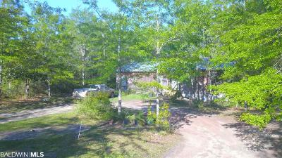 Baldwin County Single Family Home For Sale: 40000 Highway 59