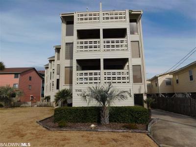 Gulf Shores Condo/Townhouse For Sale: 1144 W Beach Blvd #6D