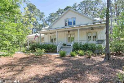 Fairhope Single Family Home For Sale: 15956 Bird Watch Lane