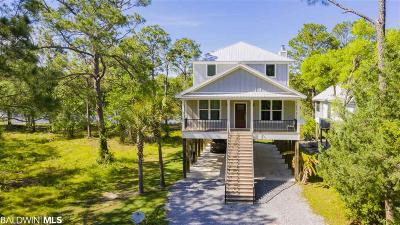 Gulf Shores Single Family Home For Sale: 804 W Canal Drive