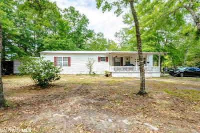 Orange Beach Single Family Home For Sale: 25351 Lot 1 Canal Road
