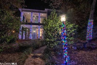 Fairhope Single Family Home For Sale: 115 Pier Avenue