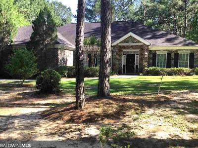Spanish Fort Single Family Home For Sale: 7490 S Blakeley Oaks Drive