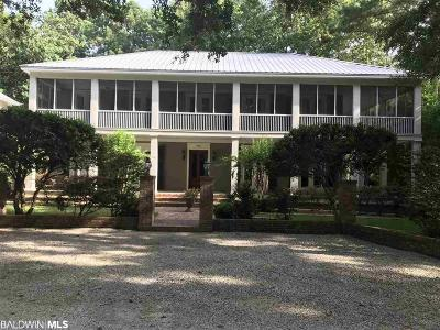 Daphne Single Family Home For Sale: 803 Captain O'neal Drive