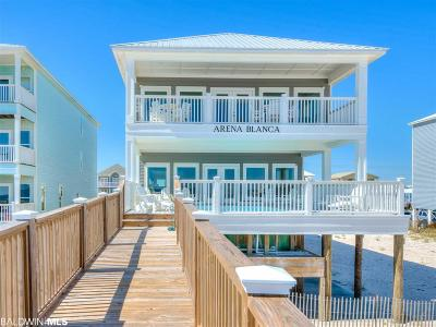 Orange Beach, Gulf Shores Single Family Home For Sale: 1381 W Beach Blvd
