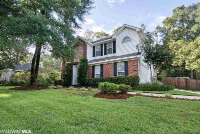 Daphne Single Family Home For Sale: 7750 Charleston Oaks Drive