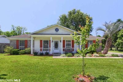 Foley Single Family Home For Sale: 21 Magnolia Circle