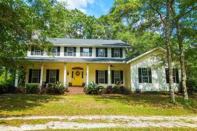 Mobile County Single Family Home For Sale: 15115 Private Rd #368