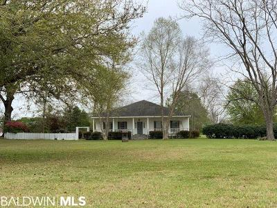 Robertsdale Single Family Home For Sale: 18845 Us Highway 90