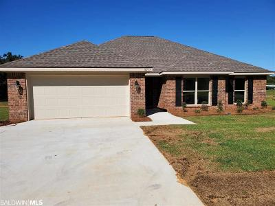 Robertsdale Single Family Home For Sale: 18775 Wilters Street