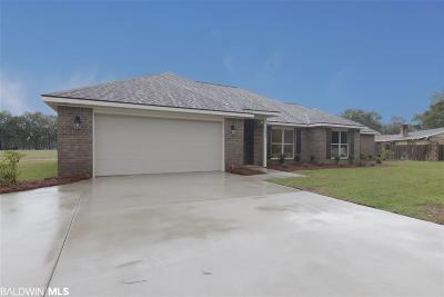 Robertsdale Single Family Home For Sale: 18835 Wilters Street
