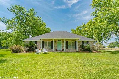 Fairhope Single Family Home For Sale: 13449 County Road 3