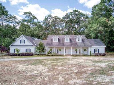 Mobile County Single Family Home For Sale: 1801 Grider Road