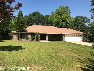 Fairhope Single Family Home For Sale: 20985 Lowry Drive
