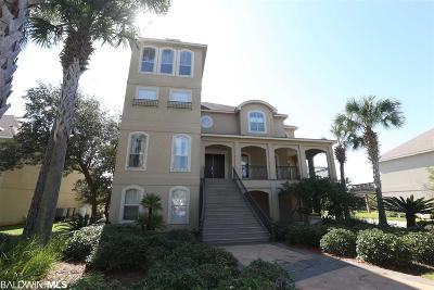 Orange Beach Single Family Home For Sale: 30947 Peninsula Dr