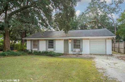 Baldwin County Single Family Home For Sale: 208 Nichols Avenue