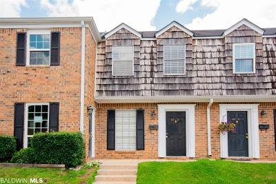 Mobile County Condo/Townhouse For Sale: 124 Du Rhu Drive #B