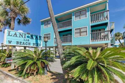 Gulf Shores Condo/Townhouse For Sale: 729 W Beach Blvd #230