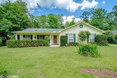 Daphne Single Family Home For Sale: 150 Dunbar Lp