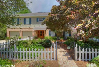 Fairhope Single Family Home For Sale: 12495-A Myrtle Street