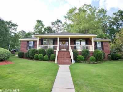 daphne Single Family Home For Sale: 129 Lakeview Loop