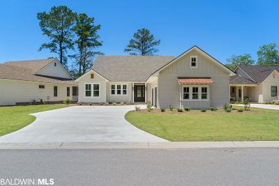 Bon Secour, Daphne, Fairhope, Foley, Magnolia Springs Single Family Home For Sale: 429 Colony Drive