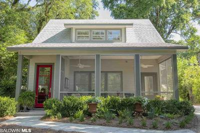 Fairhope Single Family Home For Sale: 121 Magnolia Avenue