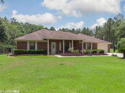 Baldwin County Single Family Home For Sale: 35330 Spring Road North
