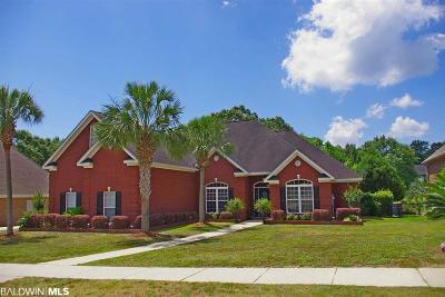 Mobile County Single Family Home For Sale: 3409 Twin Lakes Court