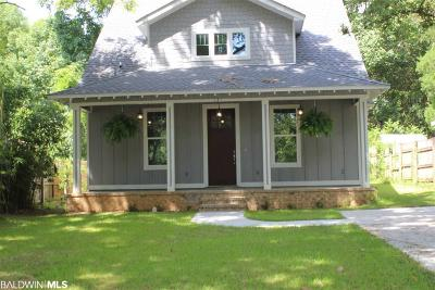 Fairhope Single Family Home For Sale: 121 White Avenue