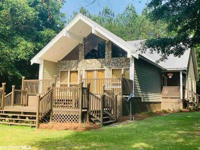 Baldwin County Single Family Home For Sale: 35512 N Spring Road North