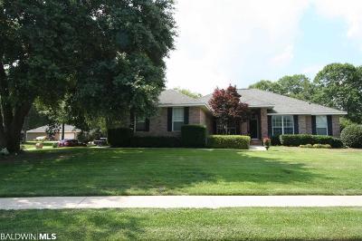 Foley Single Family Home For Sale: 12184 Verona Ct