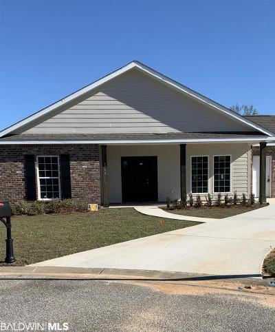Foley Single Family Home For Sale: 25377 Firefly Lane