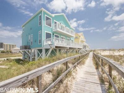 Orange Beach, Gulf Shores Single Family Home For Sale: 1428 W Dune Drive