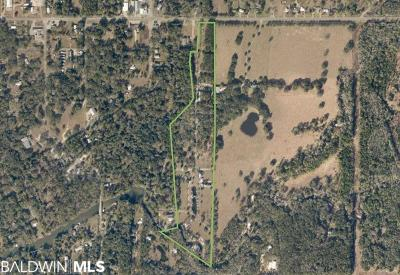 Magnolia Springs Residential Lots & Land For Sale: Old Federal Road