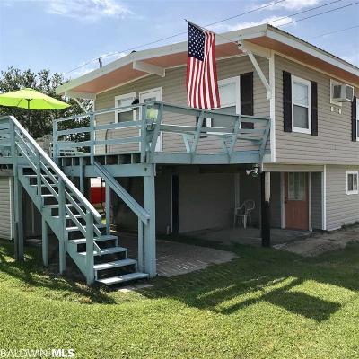 Gulf Shores Single Family Home For Sale: 1106 W Lagoon Avenue