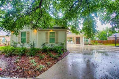 Fairhope Single Family Home For Sale: 19299 Thompson Hall Road