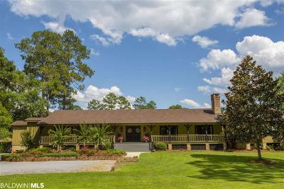 Fairhope Single Family Home For Sale: 16848 Ferry Road Circle