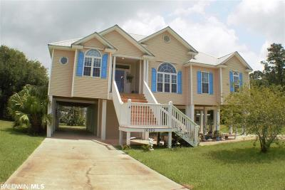 Gulf Shores Single Family Home For Sale: 16265 The Loop