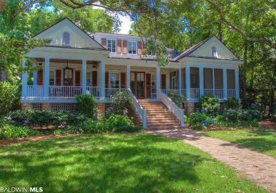 Fairhope Single Family Home For Sale: 15873 Scenic Highway 98